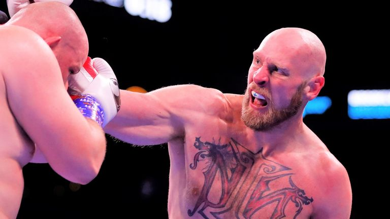 Helenius ruined Kownacki's perfect professional record in Brooklyn