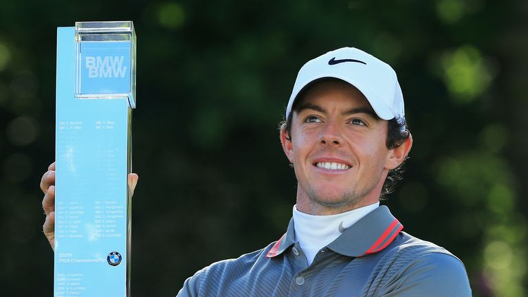 McIlroy claimed a one-shot win at Wentworth in 2014