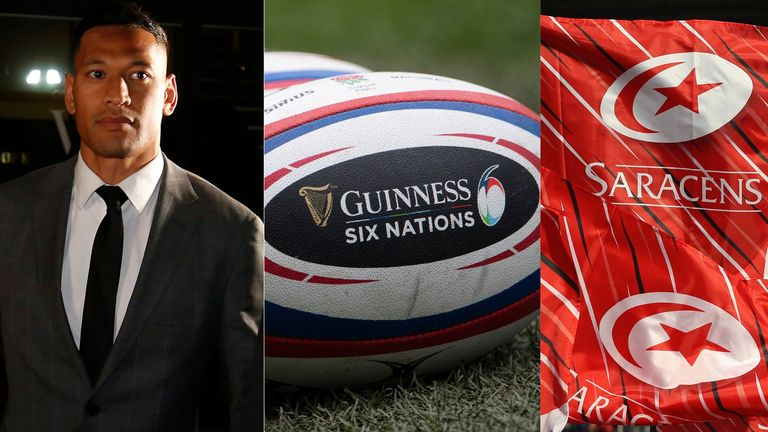 The last 12 months in rugby have seen a series of unprecedented and unusual incidents...