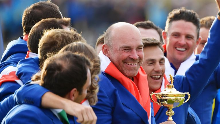 Europe are due to defend the Ryder Cup in late September