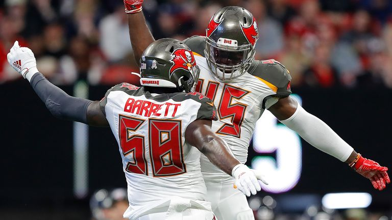 Shaquil Barrett and Devin White were two of the Bucs' stars on defense