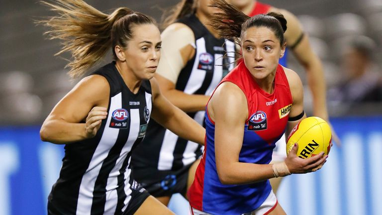 Goldrick recently returned from Down Under where she was playing Aussie Rules