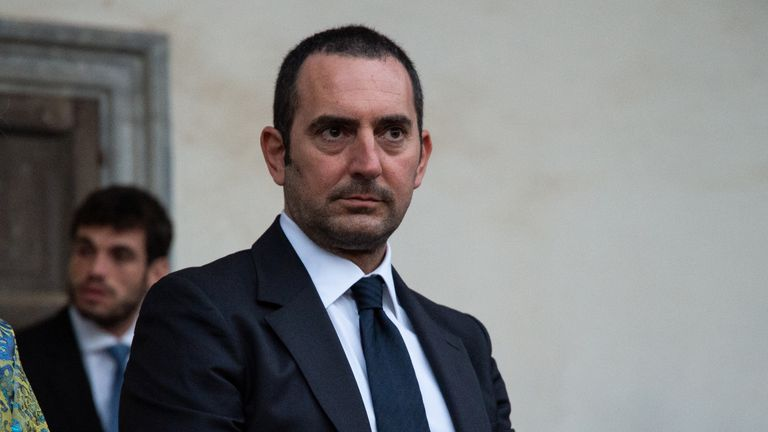 Vincenzo Spadafora has been Italy's sports minister since September 2019