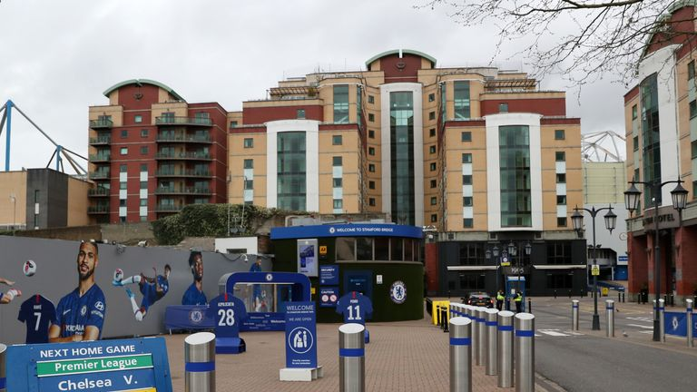 NHS hospital staff are to be put up in a hotel owned by Chelsea FC