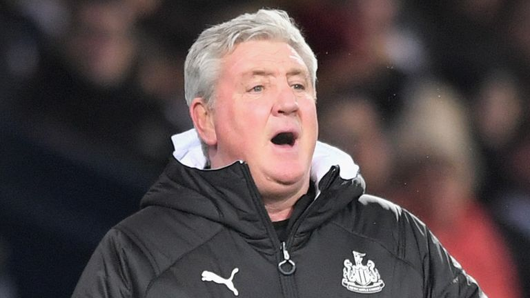 Steve Bruce has been in charge since last summer at St James' Park