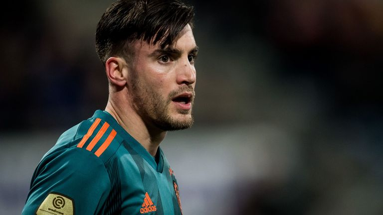 Nicolas Tagliafico is expected to leave Ajax this summer.