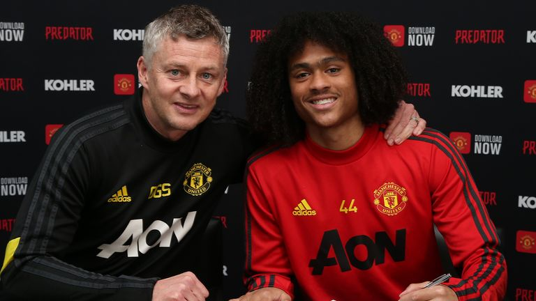 Chong signed a new deal with United earlier this year