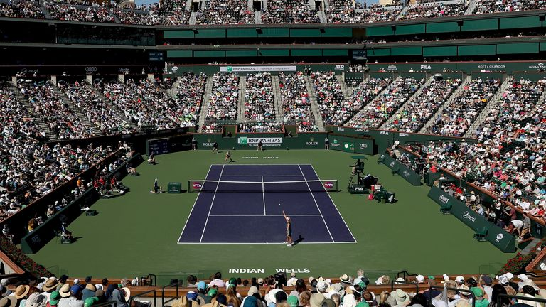 475,000 fans attended Indian Wells during its two weeks in 2019