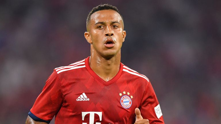 Liverpool close to signing Thiago from Bayern Munich