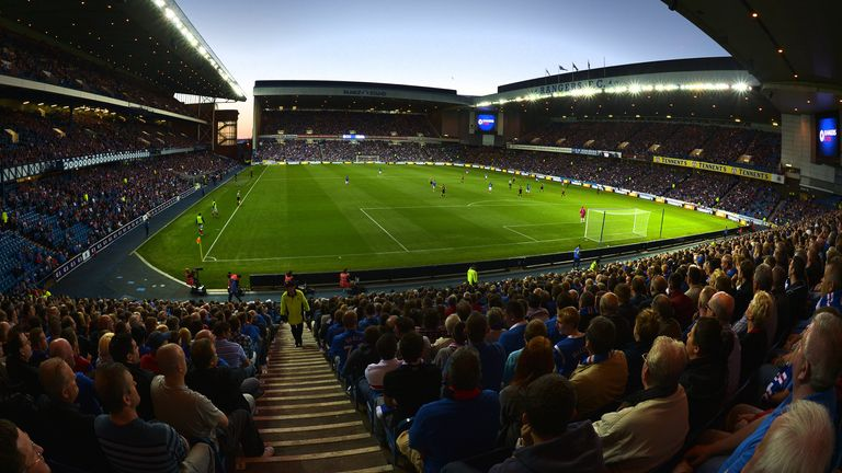 It could be months before Ibrox hosts another Rangers match
