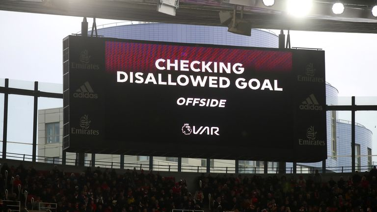 Premier League officials are discussing VAR despite the ongoing disruption caused by COVID-19