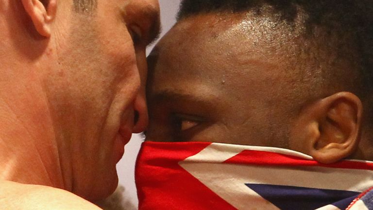 Derek Chisora challenged Vitali Klitschko in Munich in February 2012
