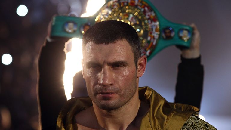 Vitali and his brother Wladimir held every heavyweight belt