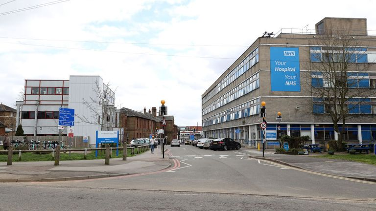 Watford General Hospital is near to Vicarage Road