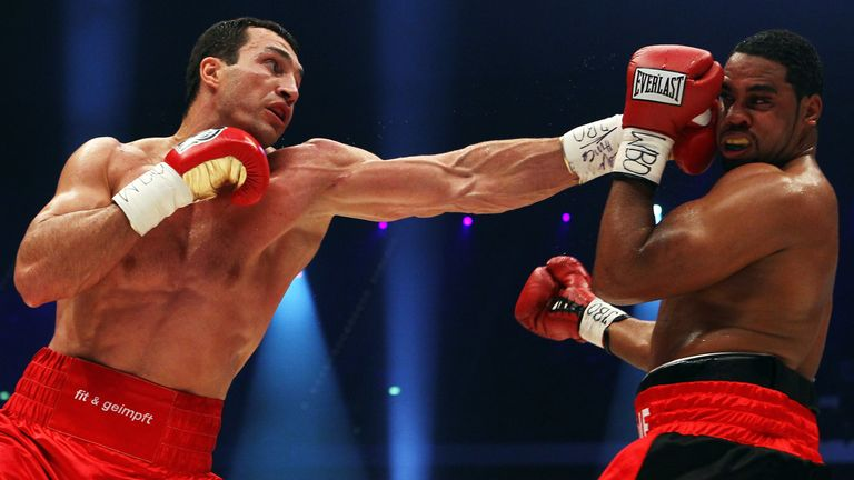 Wladimir Klitschko controlled the entire fight against Eddie Chambers
