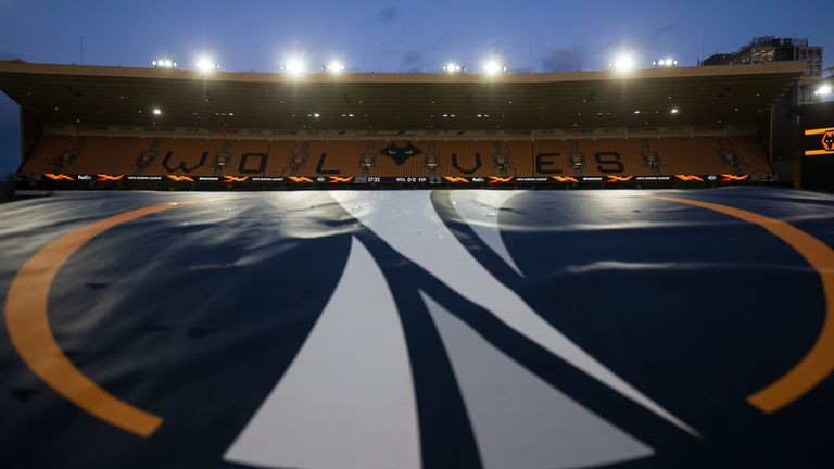 Wolves are scheduled to play the first leg of their Europa League round-of-16 tie against Olympiakos on Thursday
