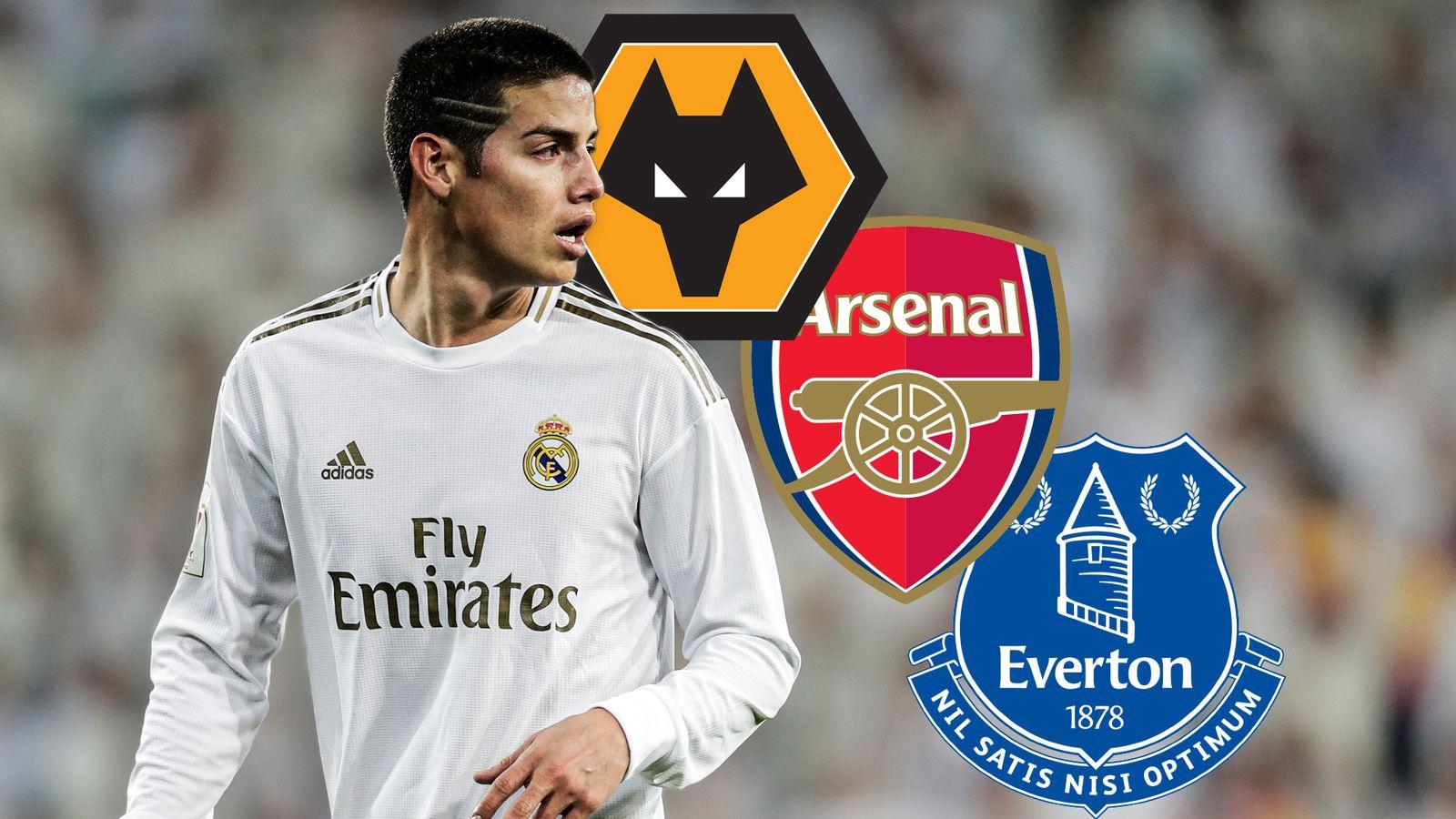 James Rodríguez: el curioso caso del delantero del Real Madrid vinculado con el movimiento de la Premier League | Noticias de futbol 6