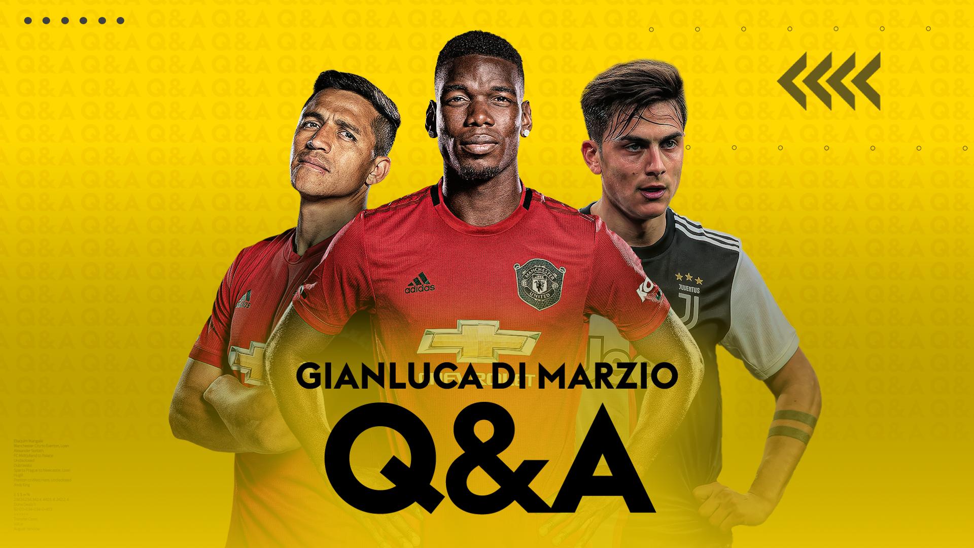 Di Marzio Transfer Q&A: Pogba, Aubameyang, Coutinho & more