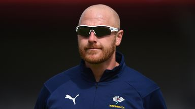 Yorkshire cricket first-team coach Andrew Gale and his wife have both registered as NHS volunteers