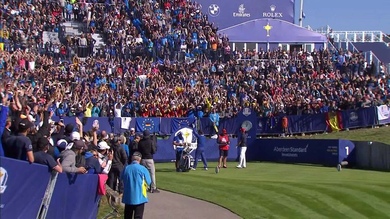 Could the Ryder Cup go ahead without spectators? We look at occasions when crowds have played a significant part in the tournament's history.