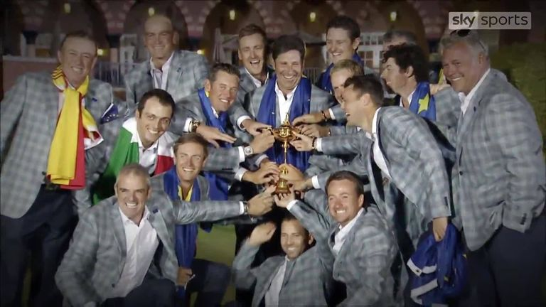 We take a look back at extended highlights from Europe's dramatic 2012 Ryder Cup victory, later named the 'Miracle at Medinah'.