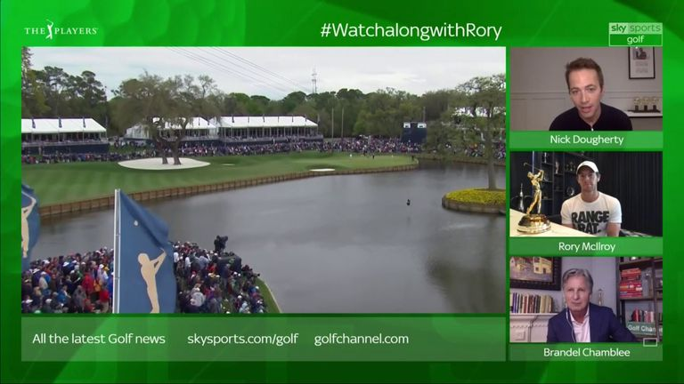 Speaking on our special live Watchalong, McIlroy reveals he finds it 'therapeutic' to be open and honest with the media