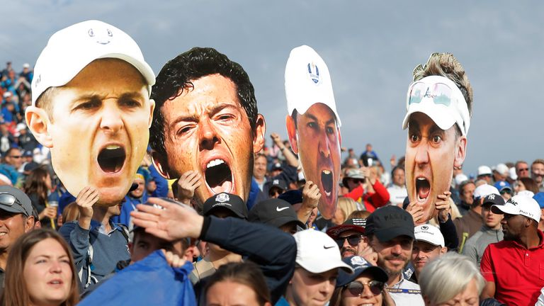 McIlroy: Ryder Cup without spectators is not the Ryder Cup