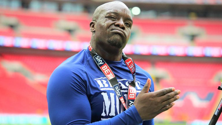 Adebayo 'The Beast' Akinfenwa also features in the series