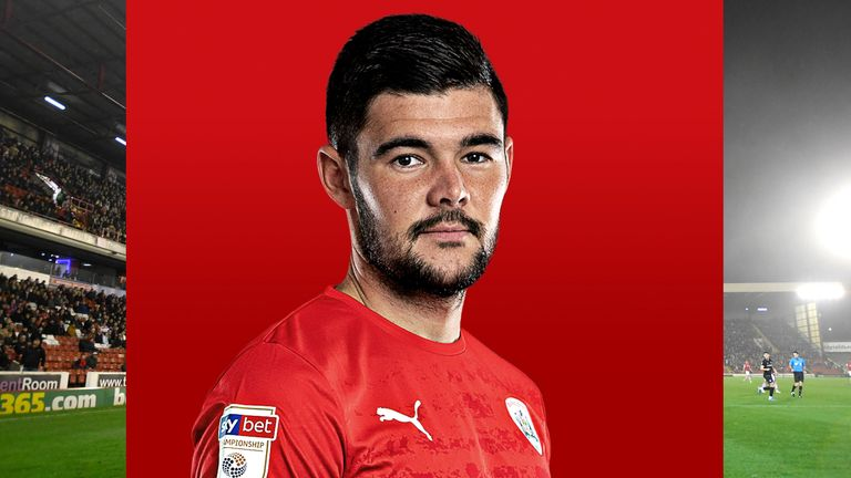 Barnsley captain Alex Mowatt is finding interesting ways to pass the time