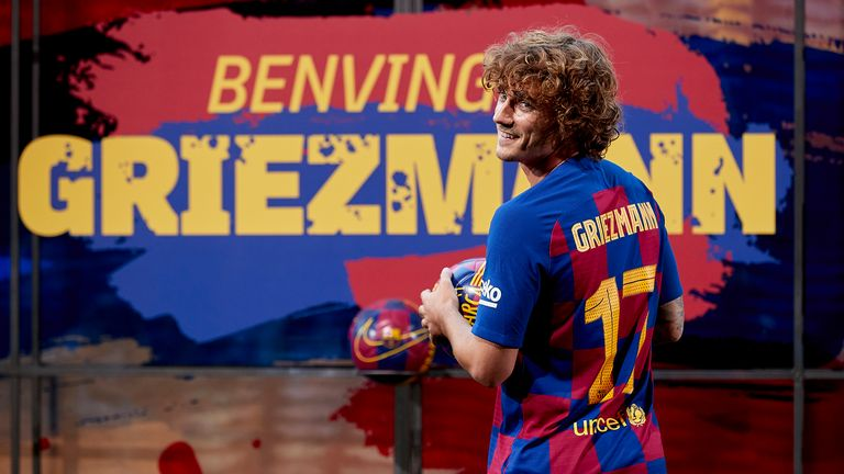 Griezmann signed for Barca from Atletico Madrid in a €120m deal last summer