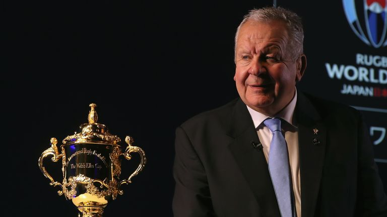 Sir Bill Beaumont has been re-elected as World Rugby chairman