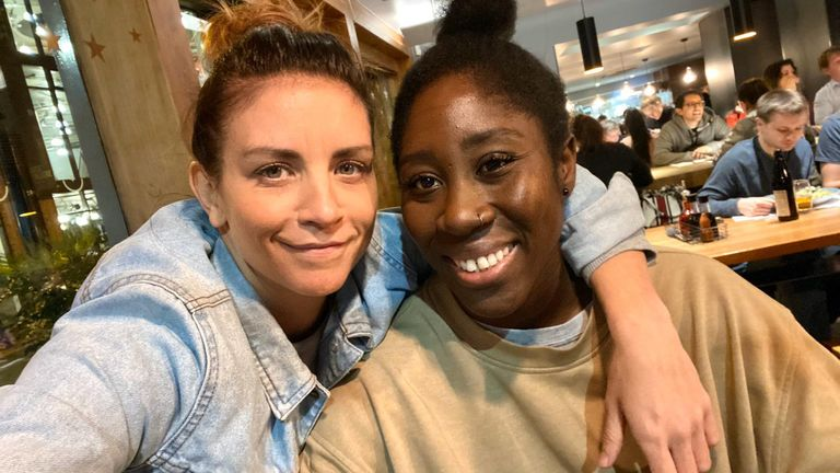 Asante and her girlfriend Beth Fisher recently spoke to Sky Sports to mark Lesbian Visibility Week