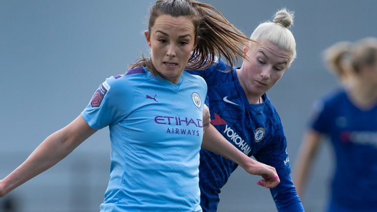 Manchester City were top of the Women's Super League table before the season was halted in March