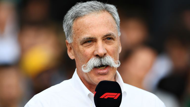Chase Carey has said F1 is fully committed to returning to the track at the earliest opportunity