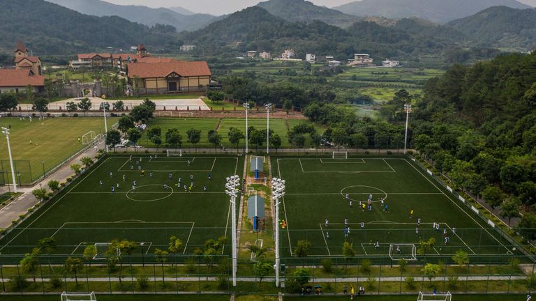 Ajax and Guangzhou R&F have vowed to construct China's best academy