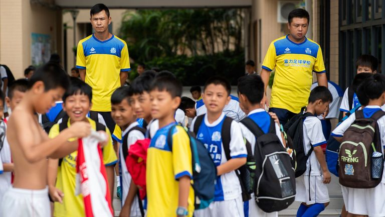 Clubs such as Guangzhou R&F now receive Ajax approved coaching