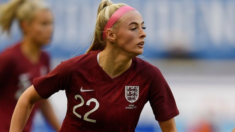 Chloe Kelly's nine WSL goals last season earned her a place in the Lionesses squad