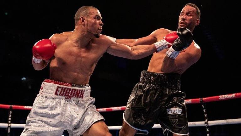 Eubank Jr defeated James DeGale last year