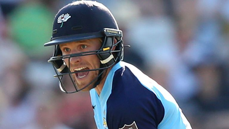 David Willey is one of four Yorkshire players who did not play against Lancashire due to concerns over coronavirus