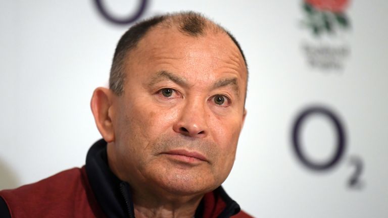 Eddie Jones signs contract extension with England until 2023