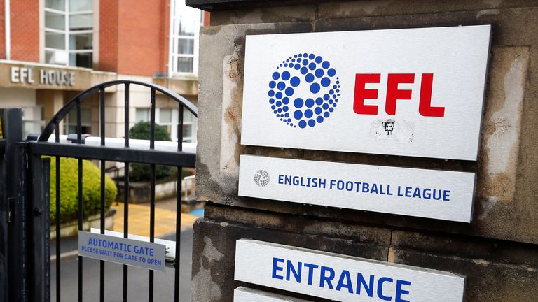 The EFL held a board meeting on Wednesday but could not find a resolution on ending the Championship, League One and League Two seasons