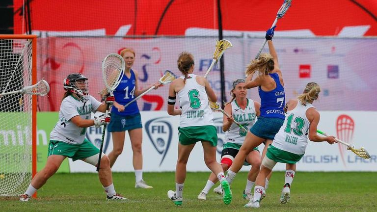 Erin helped Wales reach the final of the European Lacrosse Championships in 2012 and 2015 (picture: Paul Marvin)