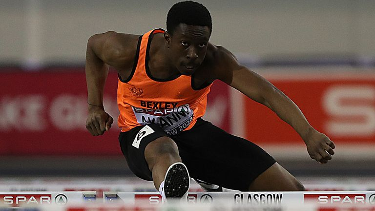 British hurdler Ethan Akanni is sharing his story with Sky Sports