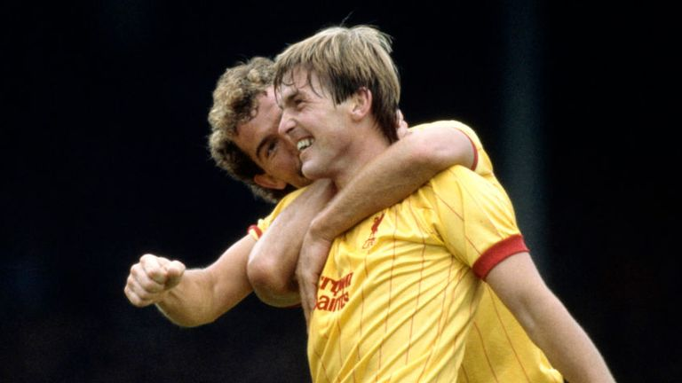 Graeme Souness and Kenny Dalglish roomed together at Liverpool and Scotland