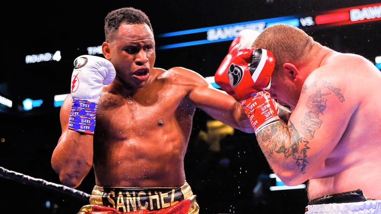 Frank Sanchez is unbeaten in 15 fights with 11 knockout wins