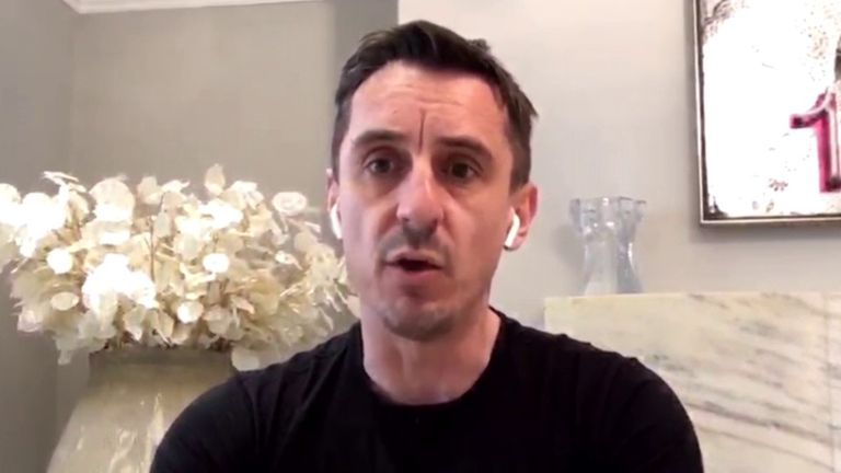 Gary Neville Speaking on The Football Show (April 17)