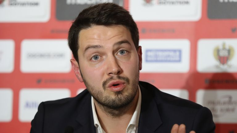 Ganaye left Barnsley last year to become president at  Nice