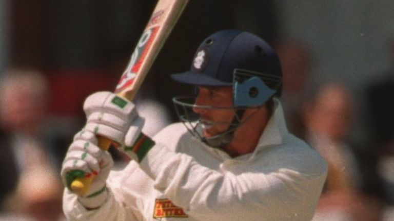Graham Thorpe, scorer of 'tough runs' for England in the 1990s