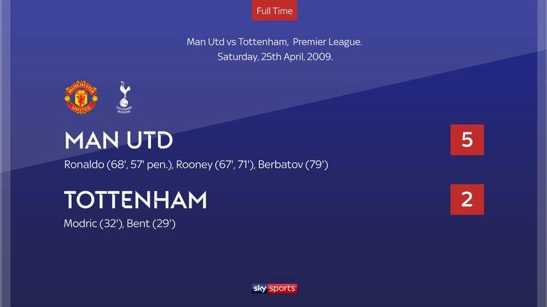 Man Utd 5-2 Tottenham