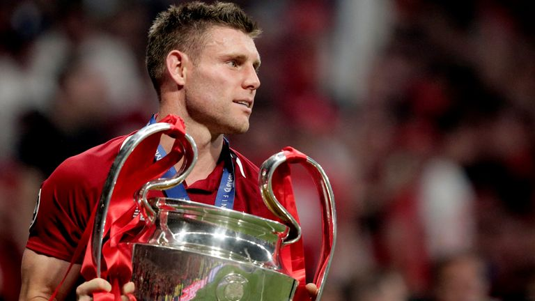 Milner has been at Liverpool since moving from Manchester City in 2015